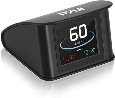 Pyle PHUD19 - Mini visor digital para coche (6,6 pulgadas, con velocímetro y brújula de navegación GPS, pantalla de velocidad, distancia, tiempo y más): Amazon.es: Electrónica