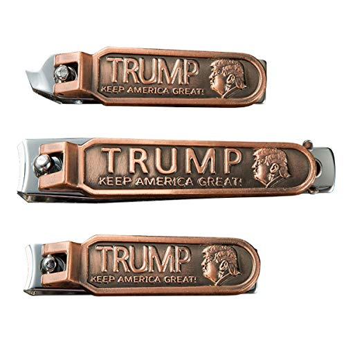 Donald Trump 2020 Keep America Great Nail Clippers Set Birthday Christmas Gifts for Men or Women