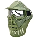 IDS Home Shield Mask for Face Protective Outdoor War Game Eyeglass Cover Military Tactical Full Face Shield Mask