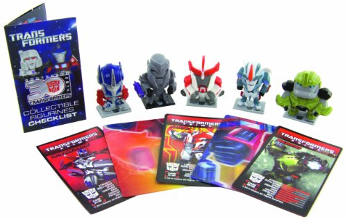 Transformers Figurines 5 Pack Trf352 Prime Series 1 Collectors Action Figure Set