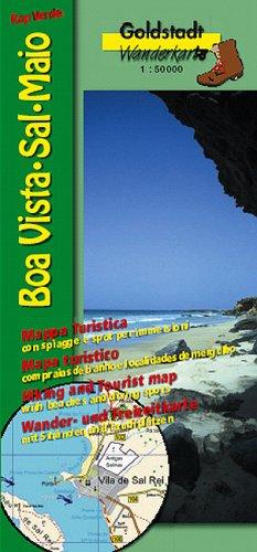 Goldstadt Wanderkarten Kap Verde: Boa Vista, Sal, Maio
