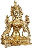 Green Tara - Brass Statue