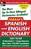 img - for Harrap's Spanish and English Dictionary book / textbook / text book