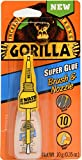 Tools & Hardware : Gorilla Super Glue Brush & Nozzle, 10 g, Clear