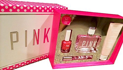 Victoria Secret Women's Pink Perfume Set