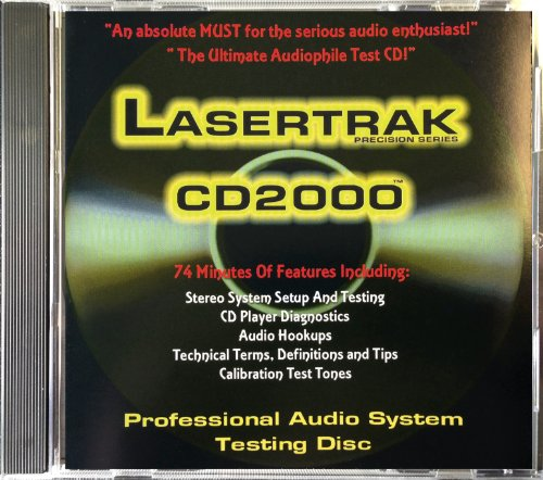 (Audio Test CD - Lasertrak CD2000 (Test Tones, Benchmark))
