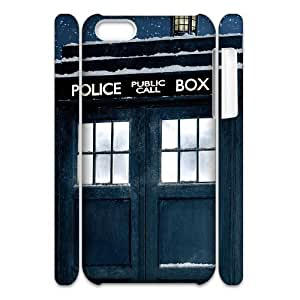 C-EUR Diy 3D Case Doctor Who TARDIS Police Call Box for iPhone 5C