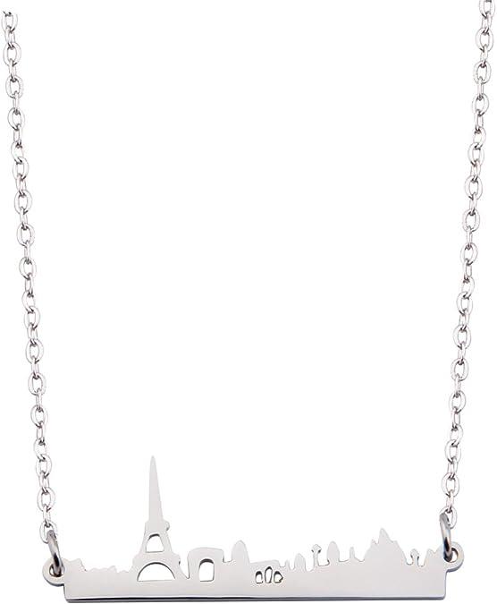 Kuiyai Skyline Necklace Architectural Jewelry