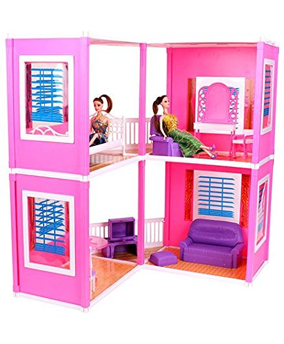 Toyzone Impex Pvt Ltd Glamour Doll House Multi Color