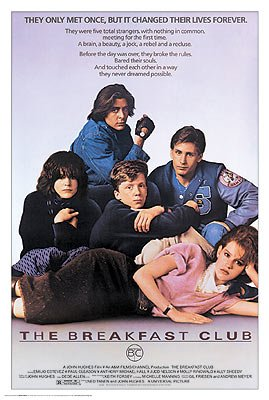 The Breakfast Club Poster from HMS