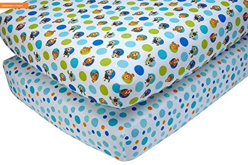 Dash Designs 550 (Mikash New Soft Nemo 2 Piece Crib Sheet Set | Style 84599927)