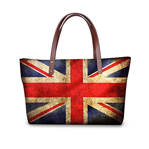 multicolore américain Showudesigns Tote drapeau britannique Bag Femme wIX6RI