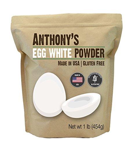 Anthony's Egg White Powder (1lb), Non-GMO, Gluten Free, Made in USA