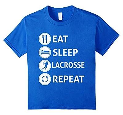 Funny Eat Sleep Lacrosse Repeat T-shirt
