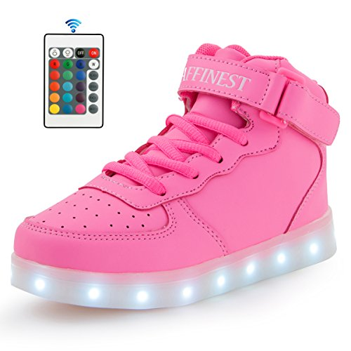 AFFINEST Rechargeable Fashion Flashing Sneakers