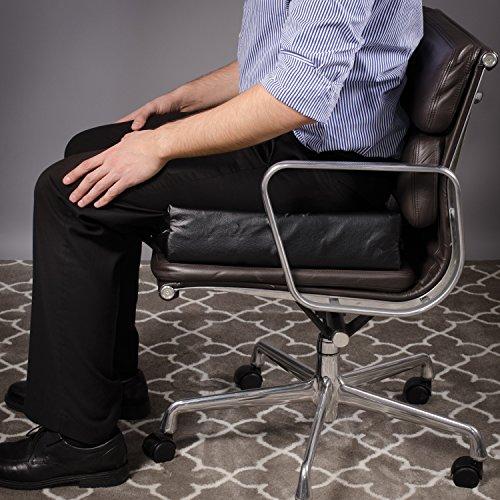 Amazon.com: Duro-Med Deluxe Wheelchair Cushion, Car Seat Cushion ...