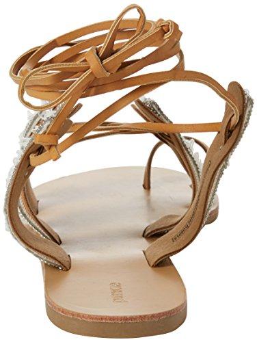 Sandales Pimkie Crs18 Bout Camel Femme Chainsandale Ouvert Marron rERwPE