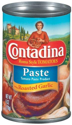 Roasted Garlic Paste - contadina Roma Style Tomato Paste With Roasted Garlic, 6 oz