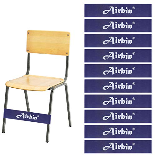 Chair Bands for Kids with Fidgety Feet (10-Pack) Affordable Flexible Seating Kicking Improves Concentration for Students with Autism ADHD SPD, for School Classroom Chairs Desk