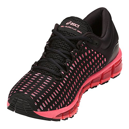 Asics Kvinders Gel-quantum 360 Skift, Sort / Flash Koral / Sort, 23,5 Cm