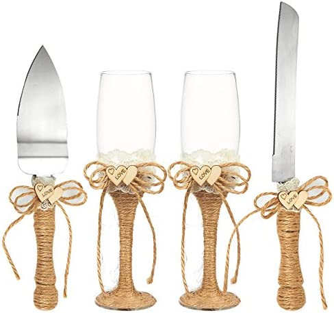 4 Piece Wedding Supplies Champagne Toasting product image