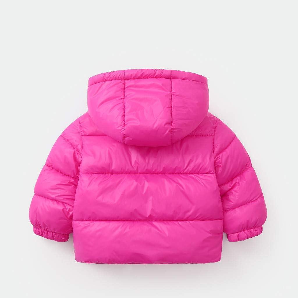 95sCloud Kleinkind Baby Jungen M/ädchen Fleece Coat Winter Mantel Mit Kapuze Warme Outwear Jacke Wintercoat Jacke Outdoorjacke Outwear Ultra Warm Langarm Unisex Kinder Parka