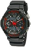 Multi Function Military S-shock Sports Watch LED Analog Digital Waterproof Alarm (Red)