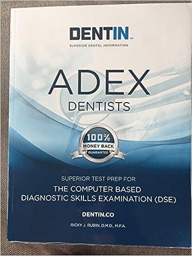 Adex dentists ebook (2019) — dentin   the leader in dental exam.