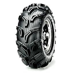 Maxxis MU01 Zilla Tire - Front - 30x9x14 , Tire Size: 30x9x14, Rim Size: 14, Position: Front, Tire Ply: 6, Tire Type: ATV/UTV, Tire Construction: Bias, Tire Application: Mud/Snow TM00457100