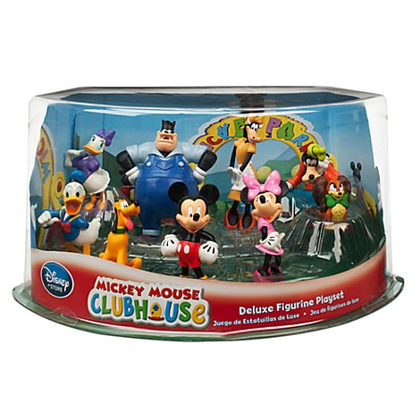 Disney store mickey mouse clubhouse play set deluxe 9 pc pvc figurine toy playset buy online - Disney store mickey mouse ...