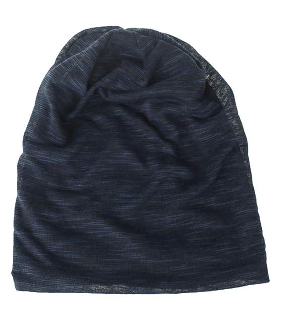 Sombrero de Gorrita Slouch de Invierno para Adultos Gorro de algodón  elástico Delgado Gorra de Gran tamaño Sombrero de Cabeza Unisex  Amazon.es   Ropa y ... 98cb7bb4208