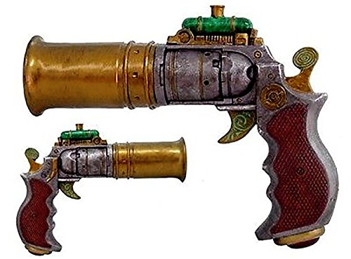 steampunk pistol resin - 9