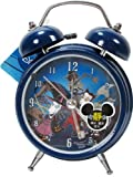 Blue Nightmare Before Christmas Light Up Alarm Clock - Small Disney Alarm Clock