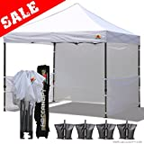 ABCCANOPY 10x10 RHINO-series EASY Pop Up Canopy Tent Commmercial Grade with ...