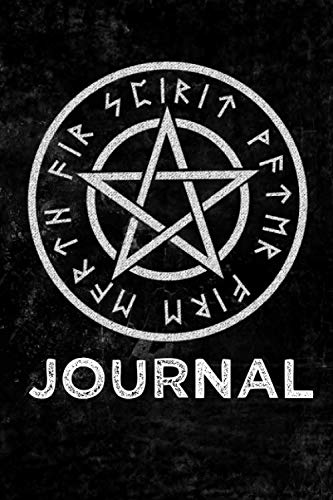 Wicca Symbol Journal: Witchcraft Logbook Notebook Keep Track Of Your Ritual Spells Perfect Gift For Wicca Casters, Magic Casters, Halloween Spell Book Summoners ()