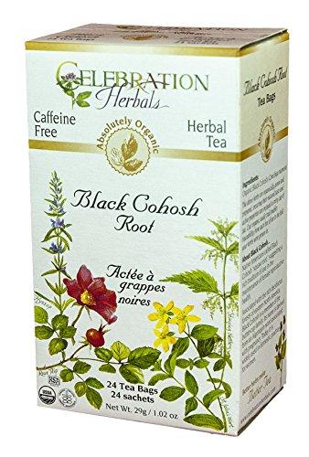 Черный Cohosh Root Чай - Органические - 24 чайных пакетиков