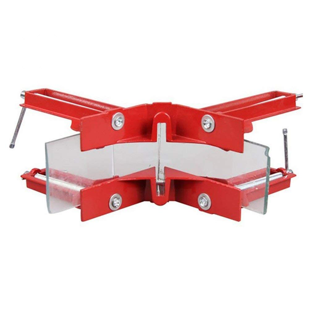 Hemore 90/°Right Angle Clip Fishtank Picture Frame Corner Clamp Woodworking Tool Garden Home Kitchen