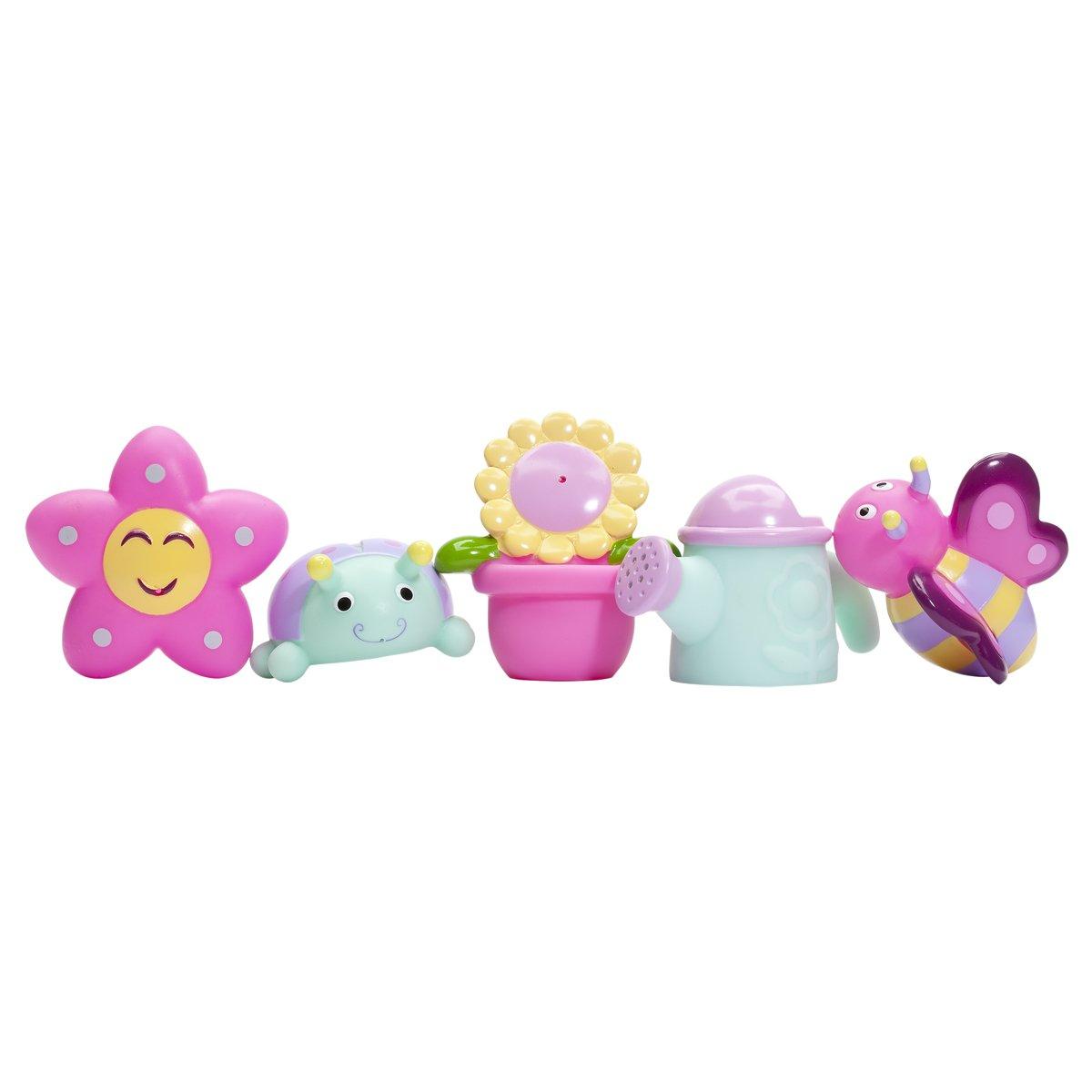Amazon.com : Elegant Baby Bath Time Fun Rubber Water Squirtie Toys ...