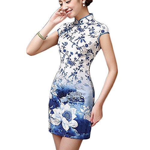 Couleurs Cheongsam Élégante Style Rétro Variées Chinese OIRqZwf