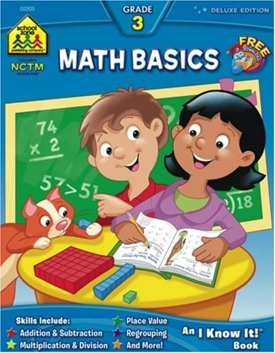 Workbooks-Math Basics Grade 3 (An I Know It ! Combo Book): Barbara ...