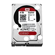Western Digital Red Pro 4 TB NAS Hard Drive 8 to 16-Bay 3.5-inch SATA 6, 64 MB Cache Internal Bare or OEM Drives WD4001FFSX