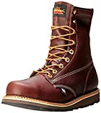 "Thorogood American Heritage 8"" Safety Toe Boot, Walnut, 13 D US"