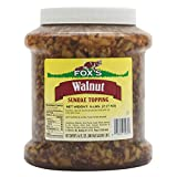 TableTop King 1/2 Gallon Walnut Ice Cream Sundae Topping - 6/Case