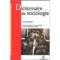 DICTIONNAIRE DE SOCIOLOGIE 3ED