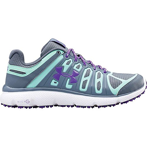 Under Armour Micro G Pulse II Grit Shoe – Women's Gravel / Crystal / Pride 7 Review