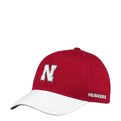 2e460994c33981 Amazon.com : adidas Nebraska Cornhuskers Flex Hat Coach's Sideline ...