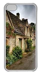 After Rain Village Polycarbonate Hard Case Cover for iPhone 5C Transparent