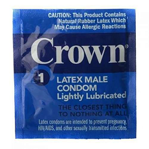 Crown Condom - 50 Piece