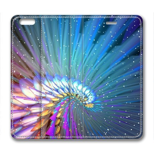 Abstract Flight Beautiful Leather Cover for iPhone 6 Plus by Cases & Mousepads