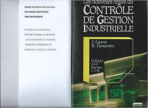 Lire Les Nouvelles règles du contrôle de gestion industrielle pdf
